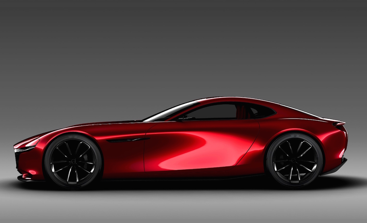 mazda rx vision concept 2015 retour d un coup rx avec moteur rotatif le blog verbaere automobiles. Black Bedroom Furniture Sets. Home Design Ideas