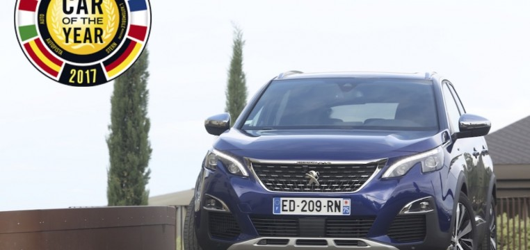 car of the year 2017 peugeot 3008 logo